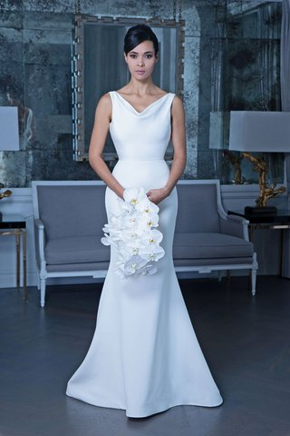 romona-keveza-fall-2019-bridal-collection-wedding-dress-rk9502-cowl-neck-sleeveless-gown