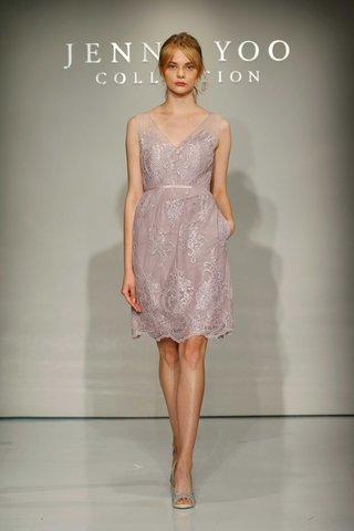 jenny-yoo-bridesmaids-2016-short-v-neck-purple-bridesmaid-dress