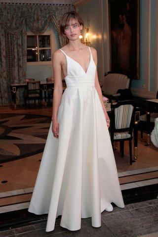 delphine-manivet-spring-summer-2017-eusebe-v-neck-wedding-dress-with-a-line-skirt-and-straps