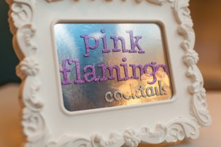 white-baroque-frame-with-purple-glitter-drink-sign
