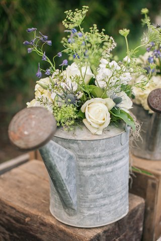 antique-flower-can-filled-with-garden-florals