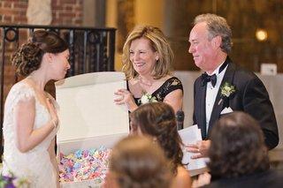 brides-parents-origami-cranes-japanese-tradition-wedding-reception-symbol-long-marriage-love