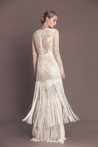 fringe-wedding-dress-with-embroidered-lace-back-long-sleeves-agata-francesca-miranda-fall-2016