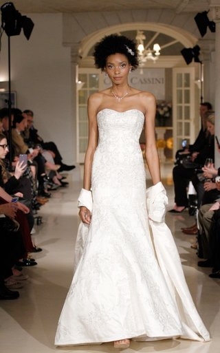 oleg-cassini-fall-2018-bridal-collection-spring-2019-wedding-dress-strapless-silver-white-gown