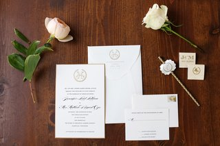 gold-and-white-invitations-simple-invitations-andrew-jackson-seal-hermitage-seal
