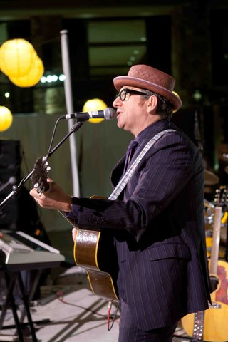 musician-elvis-costello-performs-at-park-city-wedding