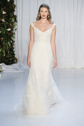 anne-barge-fall-2018-corset-bodice-wide-v-neck-and-petite-cap-sleeves-chantilly-and-alencon-lace