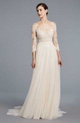 anne-barge-spring-2018-collection-bridal-dress-v-neckline-quarter-sleeve-lace-applique-s-godet-skirt