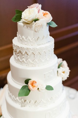 white-wedding-cake-with-filigree-details-and-monogram-and-wedding-date-fondant-blends-into-cake