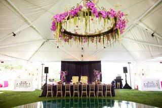 floral-structure-above-dance-floor