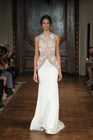 idan-cohen-fall-2017-diana-vest-cut-bodice-whand-beaded-floral-embellishments-beaded-chiffon-skirt