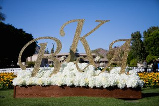 glitter-letters-and-heart-in-bed-of-hydrangeas