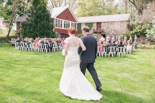 bride-walking-down-the-grass-aisle-with-dad
