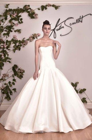 austin-scarlett-fall-2016-drop-waist-strapless-ball-gown