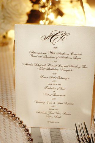 black-and-white-menu-with-couples-monogram