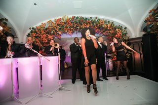 live-wedding-band-performs-at-fall-themed-reception