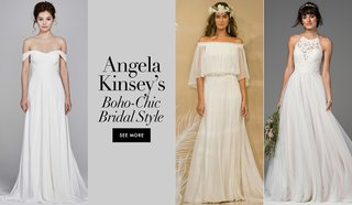 boho-chic-relaxed-dresses-angela-kinsey-joshua-synder-the-office-days-of-our-lives-one-shoulder