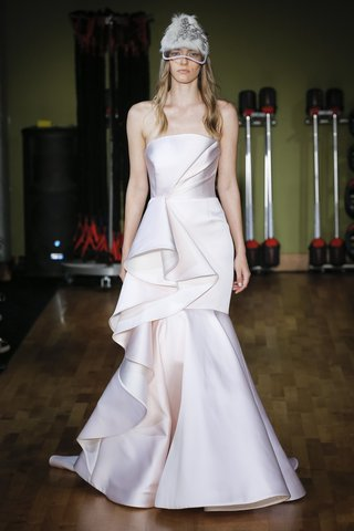 rivini-fall-2018-pale-pink-neo-satin-fit-and-flare-with-soft-bodice-drape-side-skirt-ruffle-detail