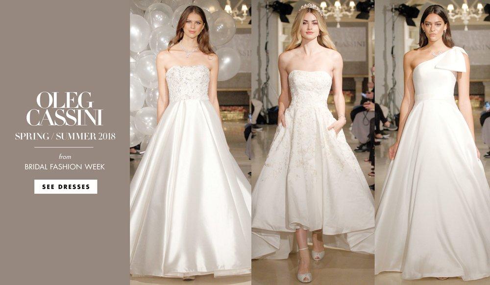 Wedding Bridesmaid Dresses By Oleg Cassini Spring Summer 2018