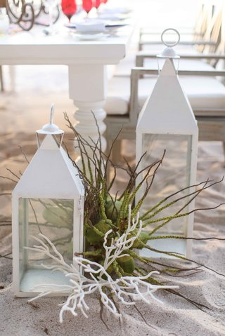 white-lanterns-sea-plant-coral-beach-mexico-punta-mita-styled-shoot-destination-wedding-decor
