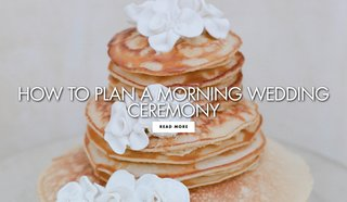 how-to-plan-a-morning-wedding-ceremony