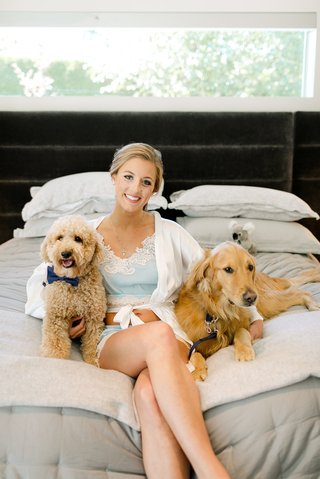 la-rams-brandin-cooks-wife-briannon-lepman-with-dogs-before-the-wedding