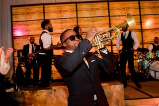 live-band-wedding-reception-entertainment-trumpet-player-in-sunglasses