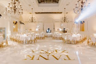 r-b-singer-durrell-tank-babbs-zena-foster-wedding-white-dance-floor-with-gold-letters