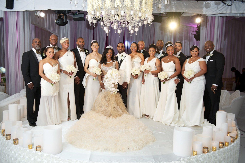 Real Wedding Of Rhoa Kandi Burruss Todd Tucker Inside Weddings