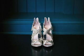 oscar-de-la-renta-metallic-ambria-embroidered-peep-toe-sandals-pumps-wedding-heels-shoe-ideas