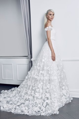 romona-keveza-collection-bridal-fall-2018-off-shoulder-flower-applique-wedding-dress-gown