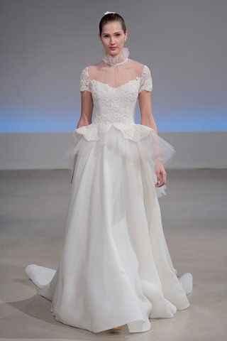isabelle-armstrong-vivienne-fall-2017-silk-gazar-gown-beaded-lace-peplum-bodice-ruffle-collar