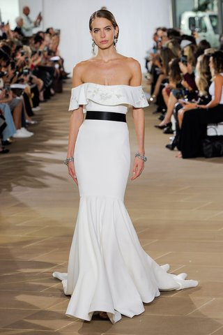 ines-di-santo-fall-2019-bridal-collection-wedding-dress-daire-off-the-shoulder-flutter-trumpet