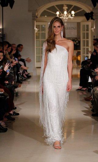 oleg-cassini-fall-2018-bridal-collection-spring-2019-couture-dress-fringe-one-shoulder-sparkle