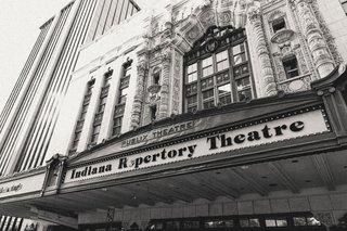 black-and-white-photo-of-theater-theatre-wedding-venue-in-indianapolis-indiana-unique-venue-ideas
