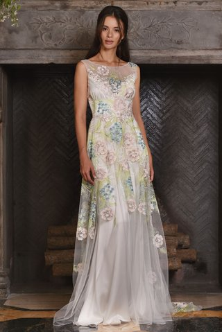 claire-pettibone-fall-2017-maia-modified-a-line-gown-green-pink-blue-embroidery-floral-applique
