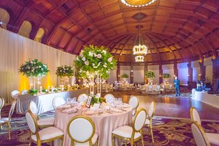 reception-space-light-linens-wooden-dance-floor-hotel-del-coronado-wedding-reception-ballroom-simple