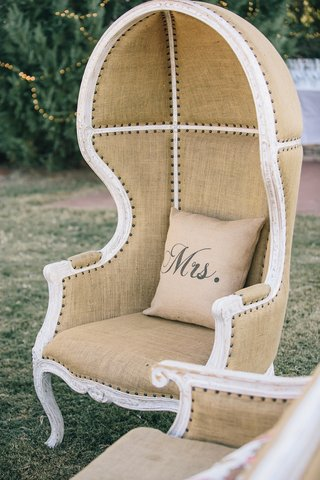 tufted-dome-chairs-on-grass-with-custom-pillow