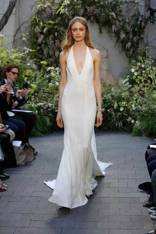 monique-lhuillier-spring-2017-marlowe-wedding-dress-v-neck-silk-crepe-halter-gown
