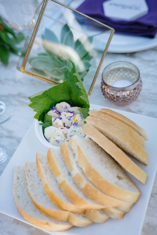 slices-of-sourdough-bread-with-butter-mixed-with-flower-petals-edible-flowers