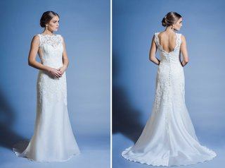 jinza-couture-bridal-2016-church-wedding-dress-or-outdoor-ceremony-dress-with-lace-high-neckline