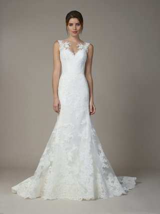 liancarlo-fall-2018-alencon-lace-french-tulle-sequins-sleeveless-mermaid-gown-illusion-neckline