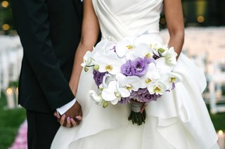 white-orchid-purple-lisianthus-and-purple-rose-bridal-bouquet