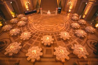 wedding-reception-in-the-rotunda-of-san-francisco-city-hall-with-pink-marble-floor