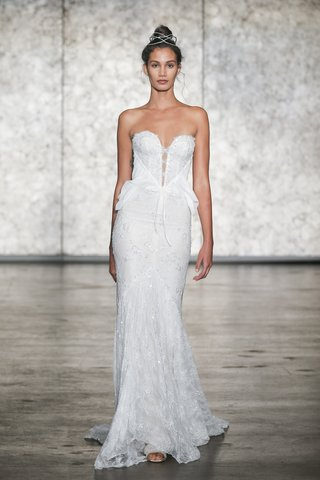 inbal-dror-fall-2018-vip-sparkling-strapless-sequin-mermaid-with-chiffon-accents-at-waist