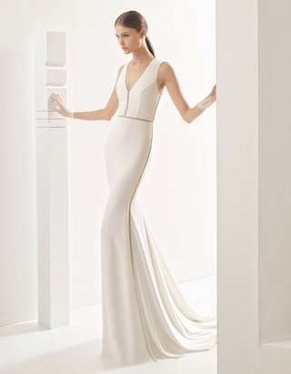 rosa-clara-bridal-nevada-wedding-dress-with-no-sleeves-v-neck-cutouts-on-bodice-waist-and-skirt
