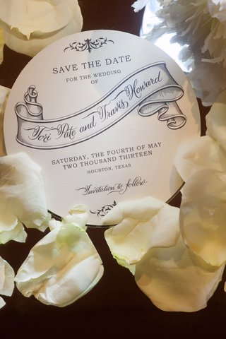 wedding-save-the-date-on-circle-stationery