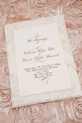 white-lace-wedding-invite-with-gold-border
