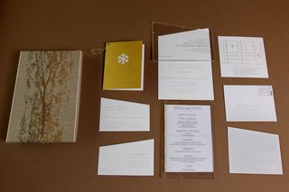 golden-wedding-invitation-suite
