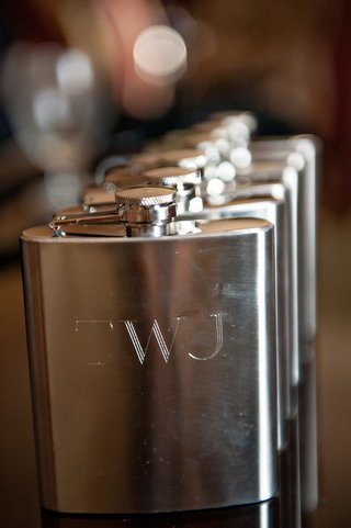 silver-flask-featuring-newlyweds-monogram